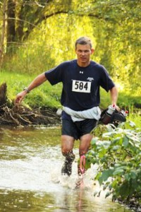 Greg Redding running