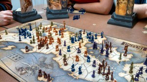 War in Feudal Japan, so much fun! (I'm Orange; you can see my army in the northeast)