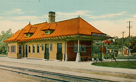 Crawfordsville Big Four Depot