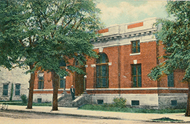 Crawfordsville Post Office