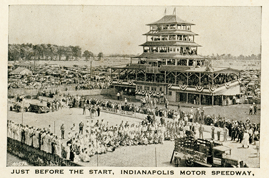 Indy 500 at the start