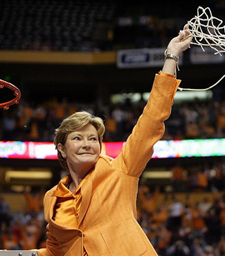 Legendary Coach Pat Summitt.