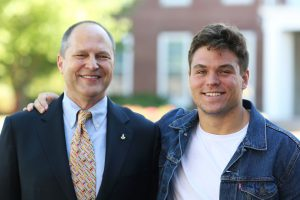 Rob Shook '83 and Kaz Koehring '18