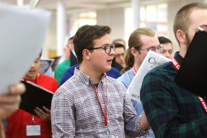 Wabash Glee Club began rehearsals Thursday for their 125th Reunion on Saturday.