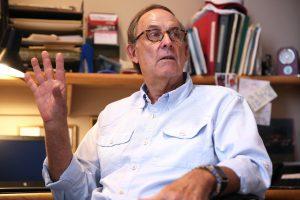 Professor of English Emeritus Tobey Herzog