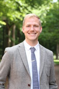 Former Visiting Assistant Professor of English Andrew Klein