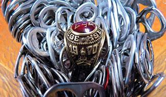 Greg Jackon's '70 Wabash class ring
