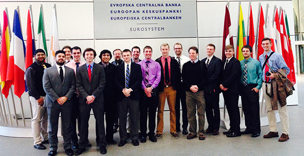 Wabash students set to visit EU Central Bank, Frankfurt, Germany
