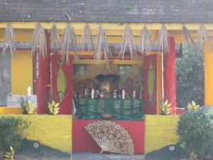 A shrine for the orisha, Oshun