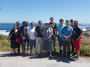 A group shot atop Table Mountain.