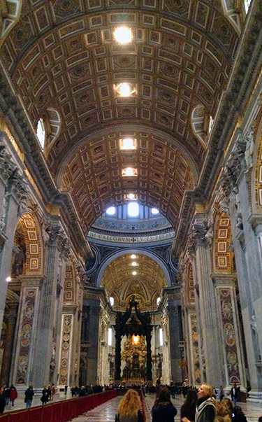 Saint Peter's Basilica at the Vatican