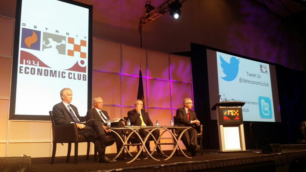 Taylor '15 attends Detroit Economic Club Luncheon