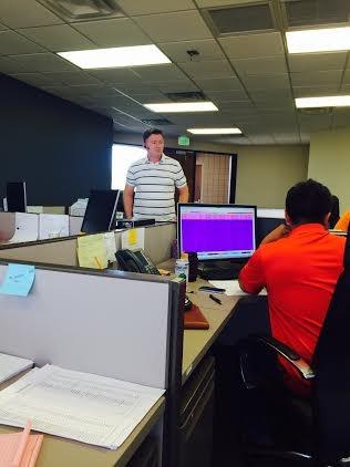 Putko '16 at work at CTS