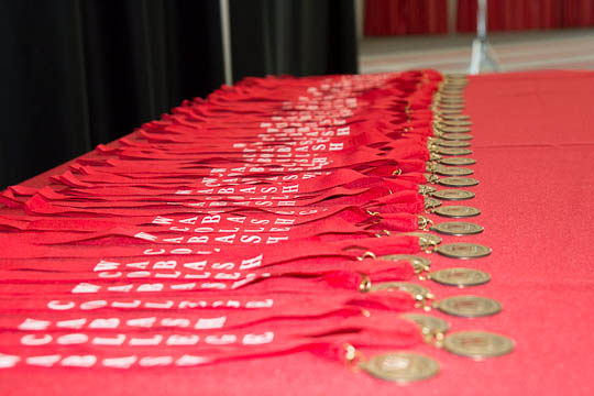 The 50th Reunion medallions