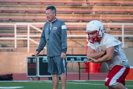 New addition - Coach Charlie German '70