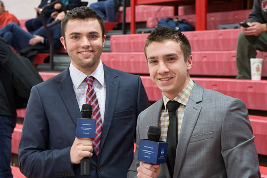 Derek Andre and Clayton Randolph