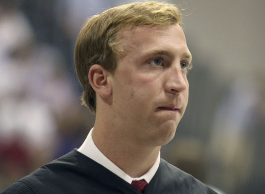 Seems like just yesterday.  Paul Wilson at commencement in 2010.