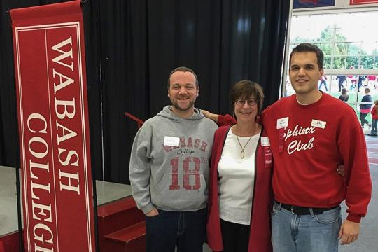 Zack Foughty, Prof. Kay Widdows, Ross Dillard
