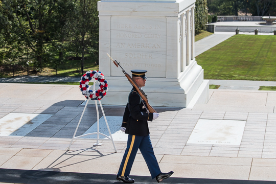 The Wabash Wreath at theTomb of the Unknown