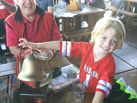 The grand son of Tobey Herzog H'11 and Cal Black '66 - waive his app fee!
