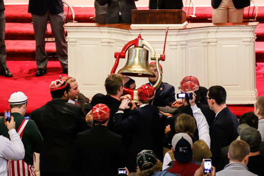 The Monon Bell Arrives