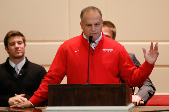 Coach Erik Raeburn