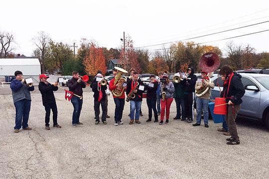 The Late Season Pep Band