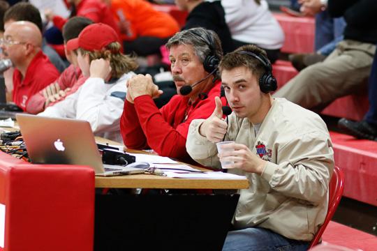 Tom Perkins and Clayton Randolph