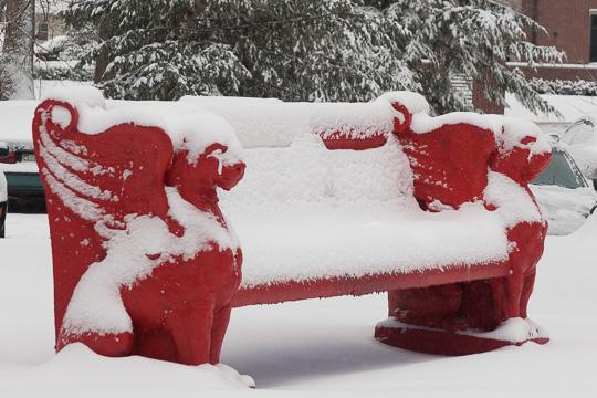 In snowier times