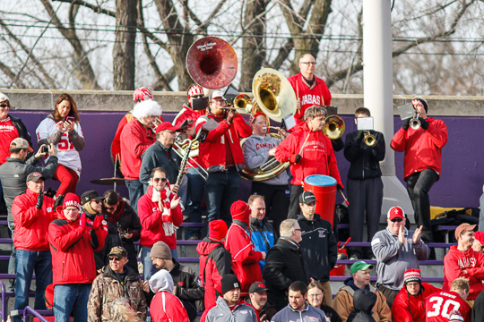 The Wabash Pep Band at St. Thomas