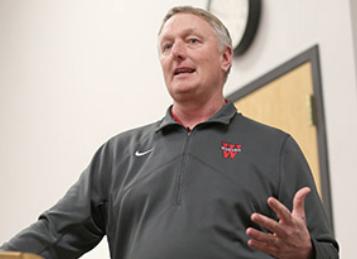Head Football Coach Don Morel